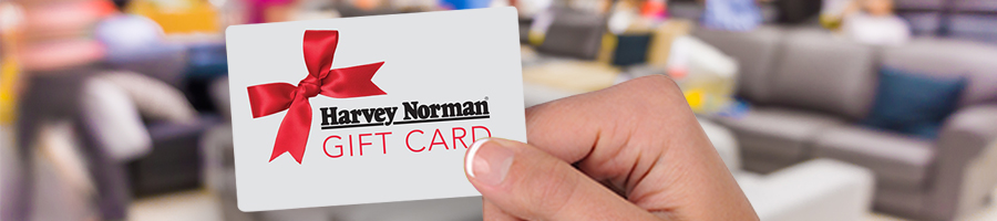 $1,000 Worth Of Harvey Norman Gift Cards