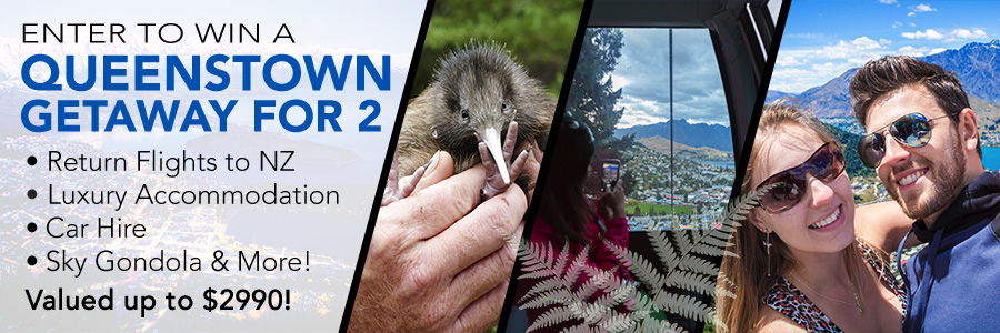 Win a Queenstown Fly-Stay Package