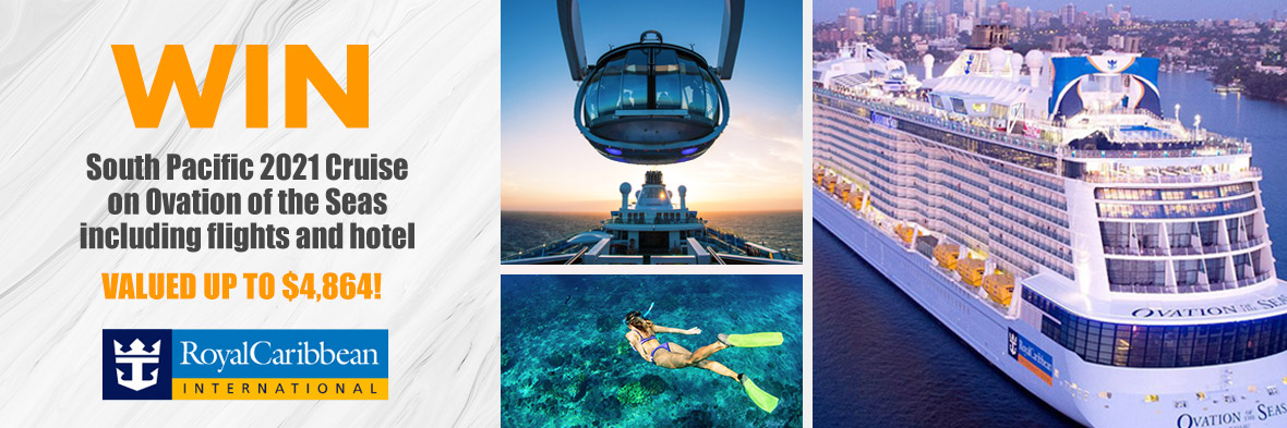 South Pacific Mega Cruise Giveaway